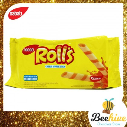 Nabati Roll's Cheese Wafer Stick 115g (Exp: 28 Feb 2021)